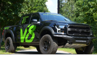 V8 Ford Raptor F150 Conversion