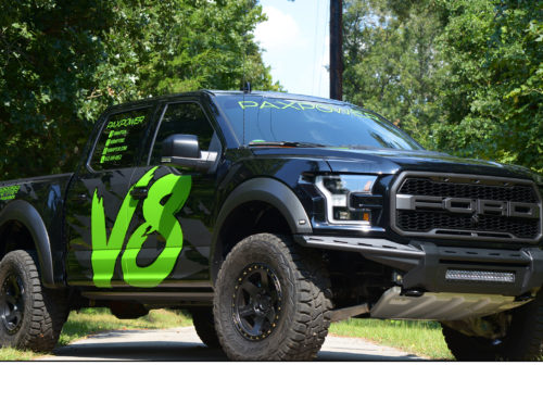 PaxPower releases the V8Raptor, a 758-horsepower Supercharged V8 Ford F150 Raptor Conversion
