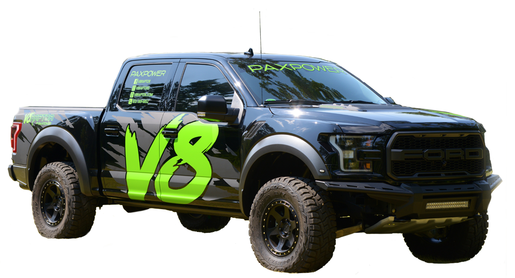 V8 Ford Raptor: PAXPOWER