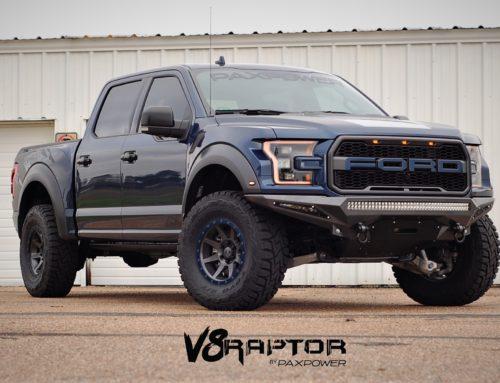 Blue Jean Metallic Full V8 Raptor Conversion