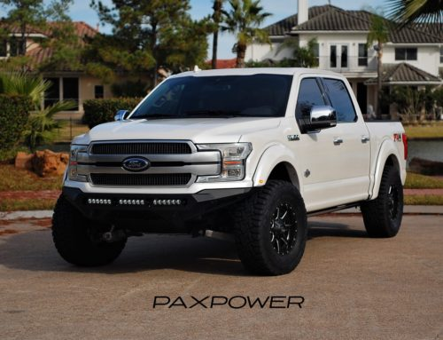 PaxPower King Ranch F150 Build with Raptor suspension and Whipple Supercharger!