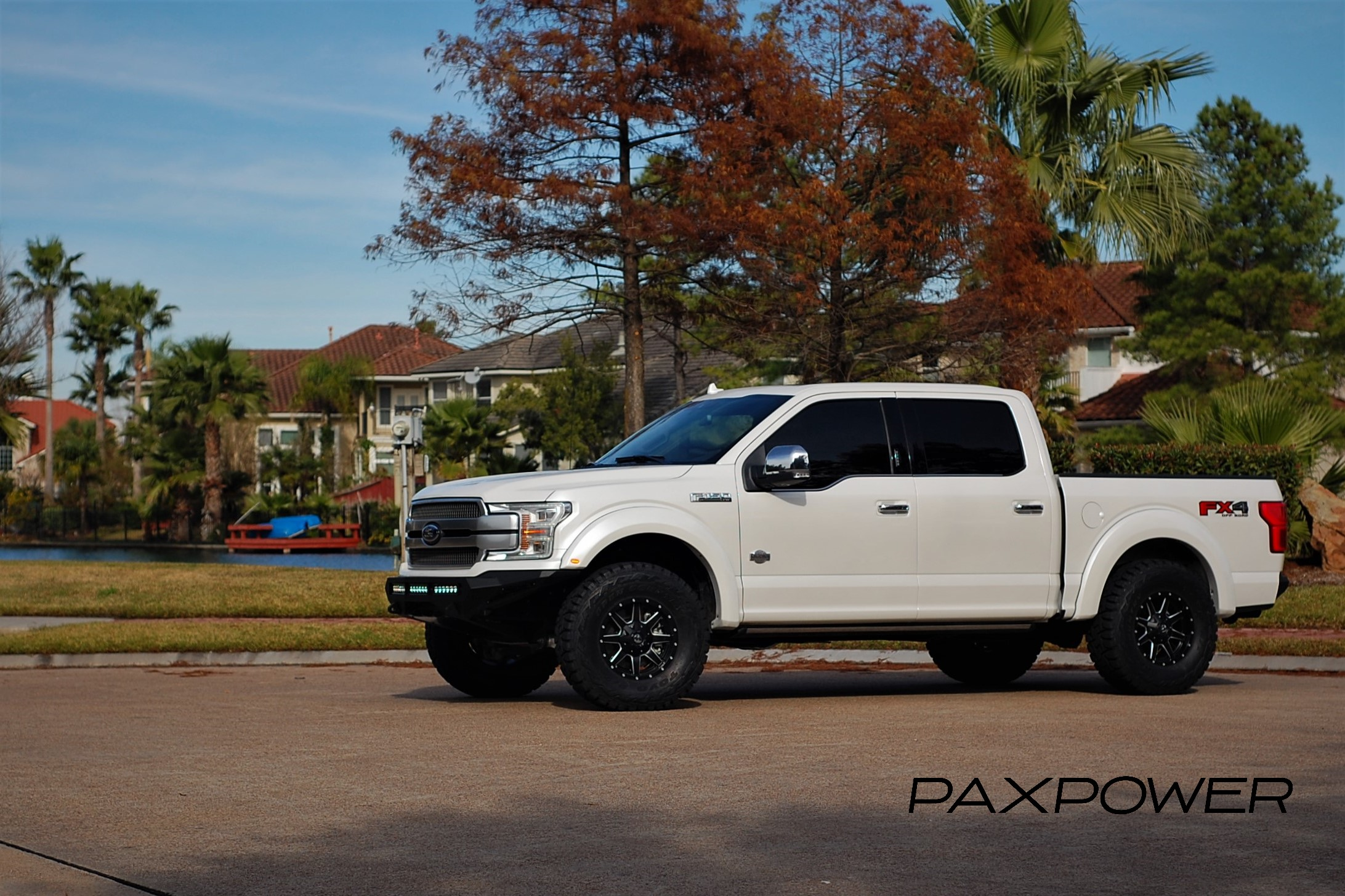 PaxPower King Ranch F150 Build with Raptor suspension and