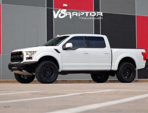 CARB Compliant Supercharged V8 Raptor